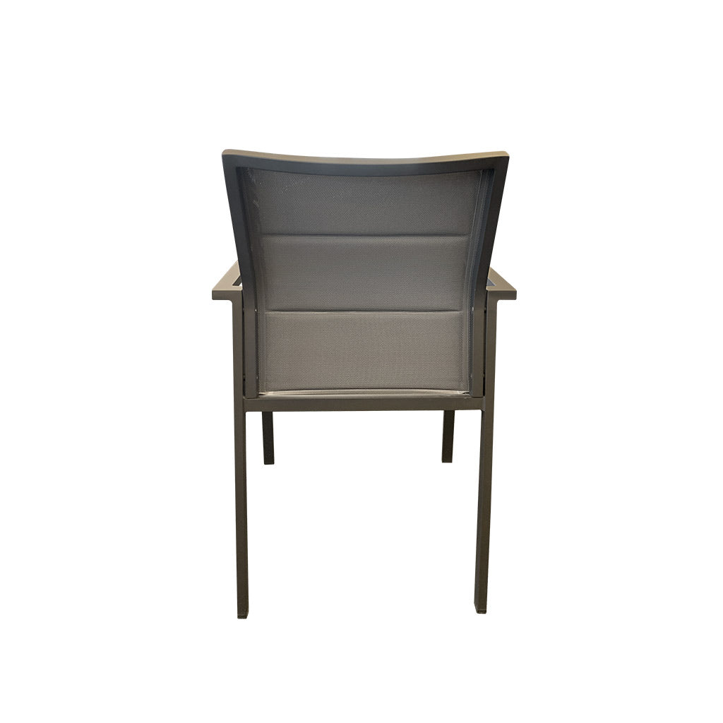 Bermuda Outdoor Dining Chair - Charcoal