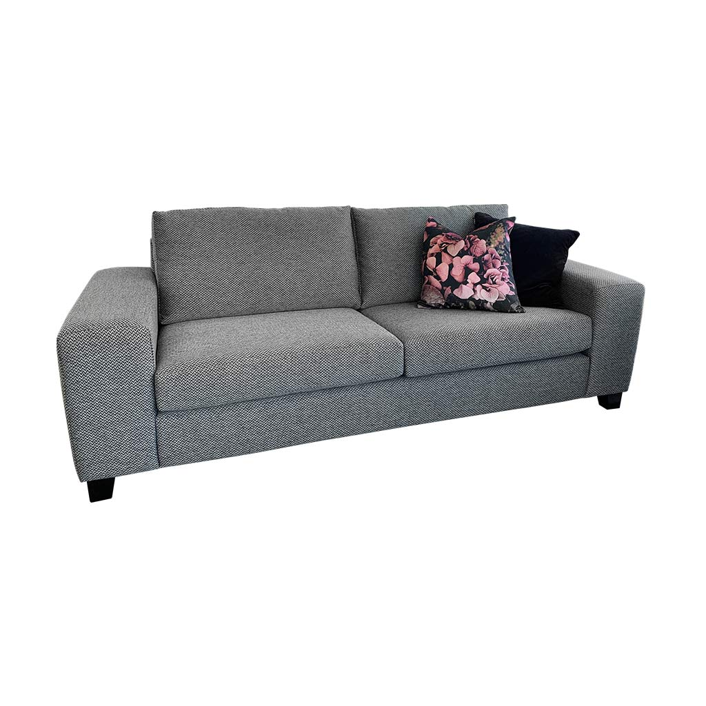 Boston 3str Sofa - Loft Charcoal