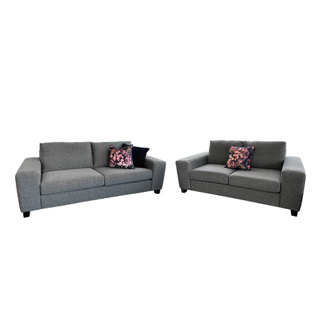 Cushion - Wilson With Feather Inner - Black/Ecru