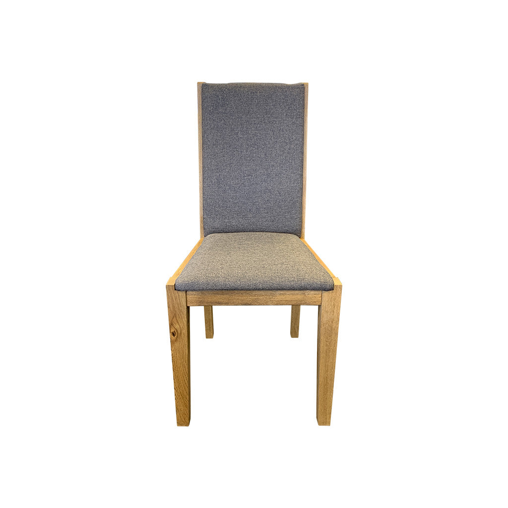 Bresso Dining Chair - Solid Wild Oak Timber