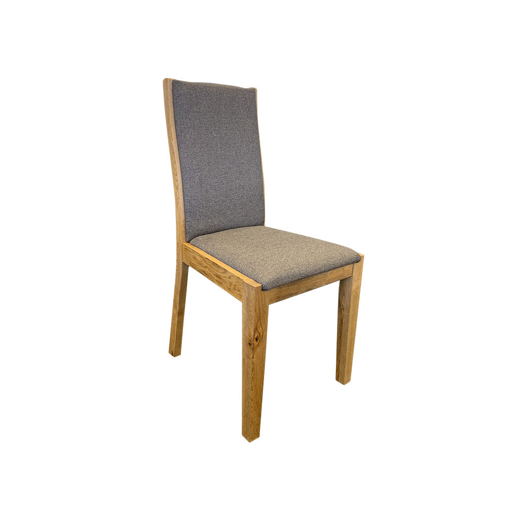 Bresso Dining Chair - Oak and Fabric