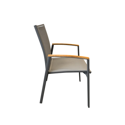 Lax Outdoor Chair - Black