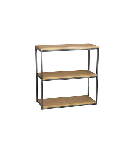 Calia Tall Narrow Bookcase - Oak