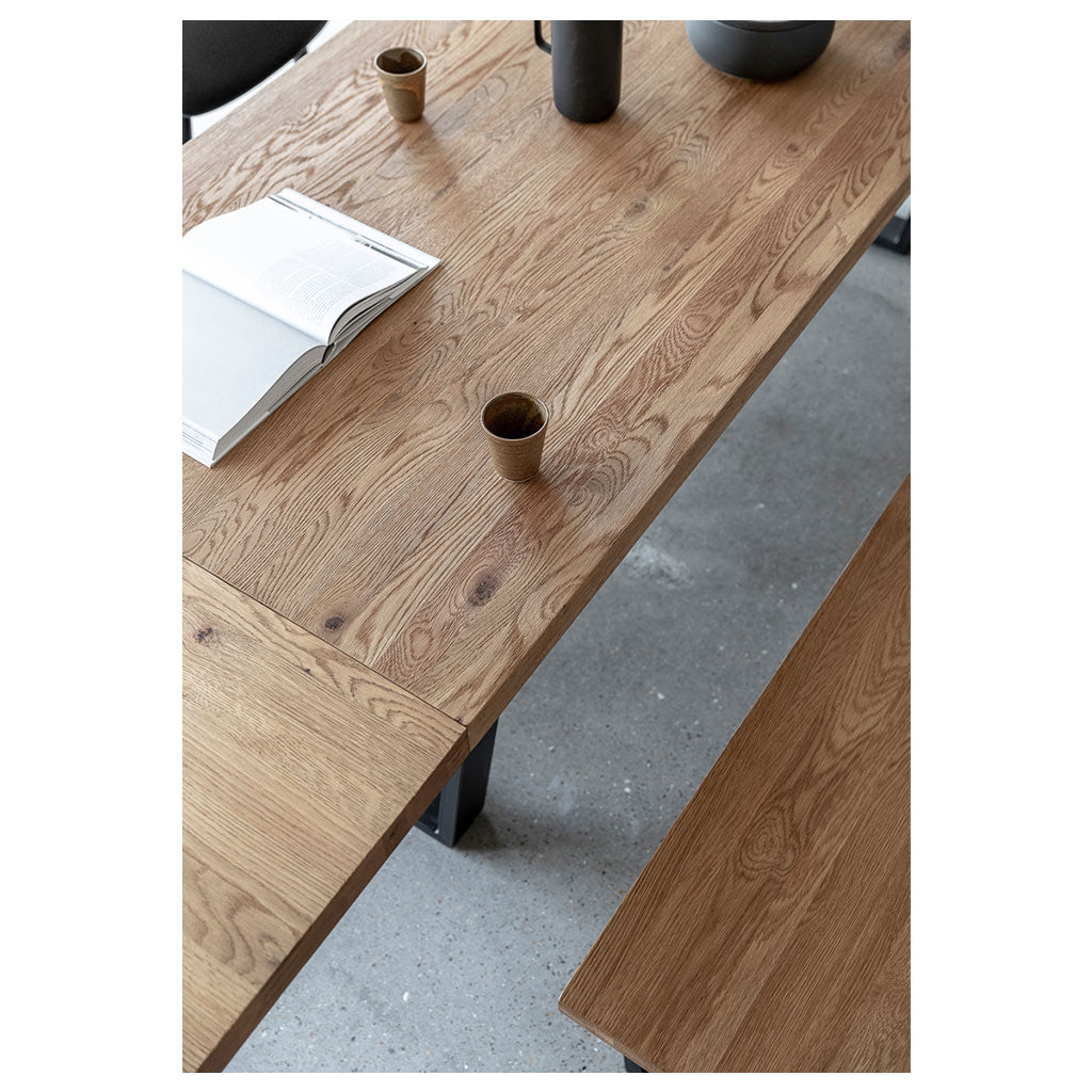 Calia dining table - view from above
