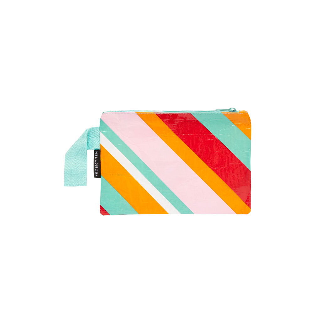 Project Ten - Zip Pouch - Candy Stripes - Mini