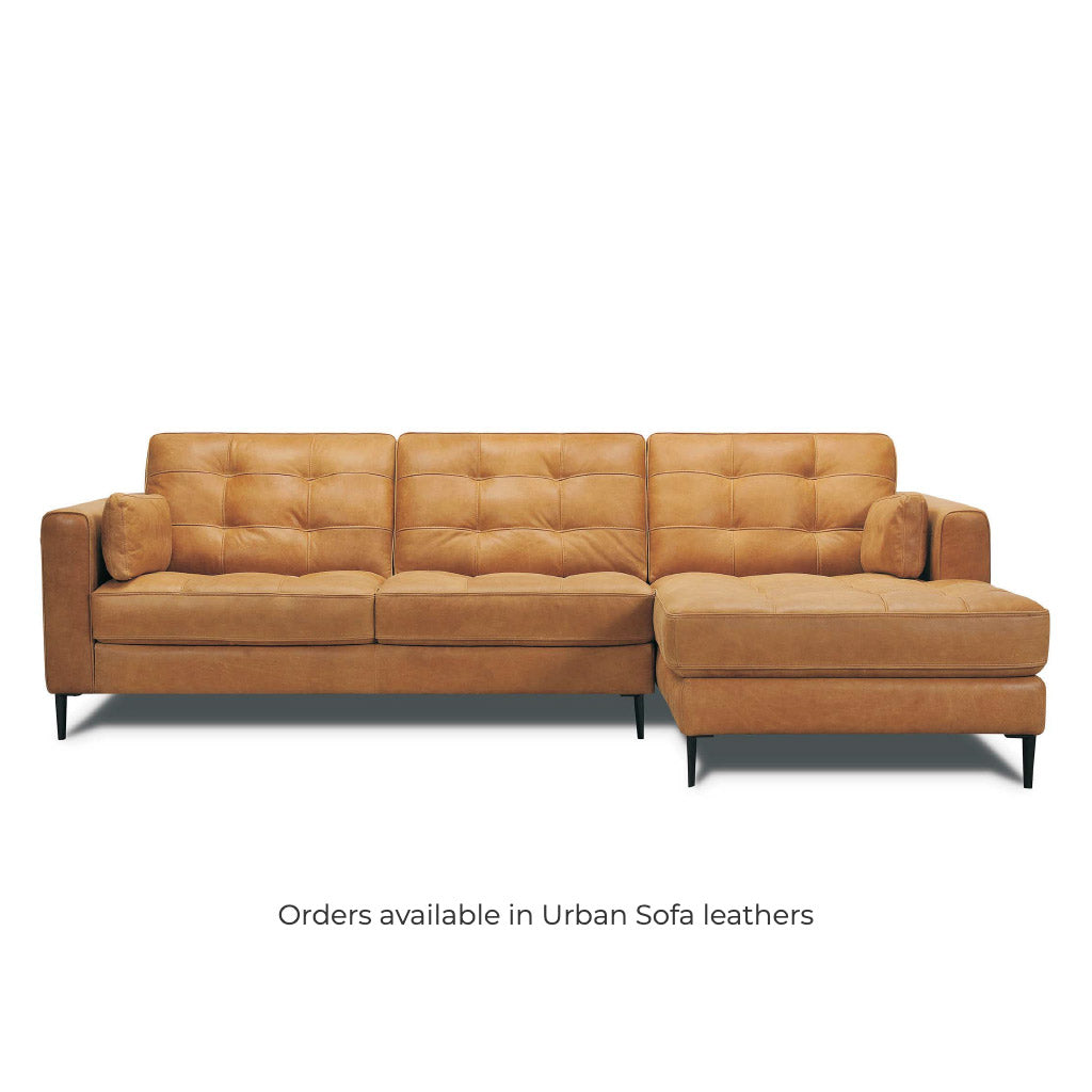 Chester Sofa Chaise - Available to order in a range of leathers