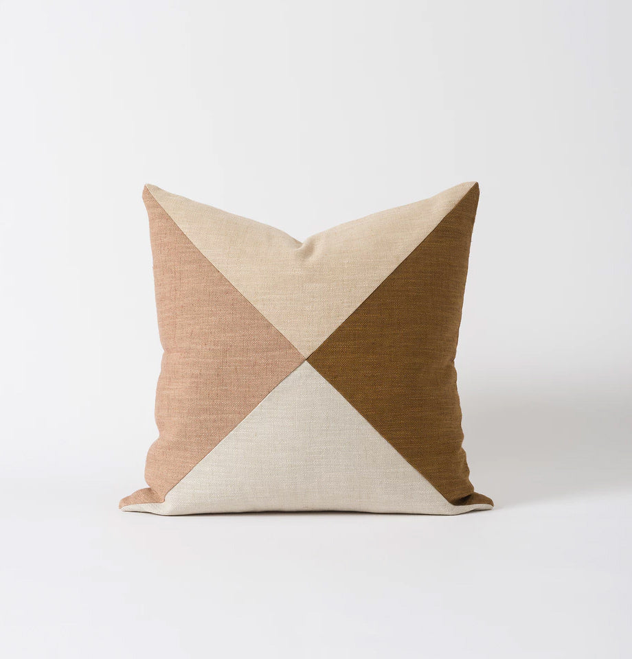 Origami Patchwork Cushion