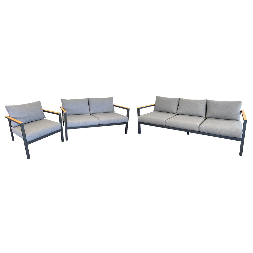 Copenhagen outdoor lounge, 3, 2 & 1 seater