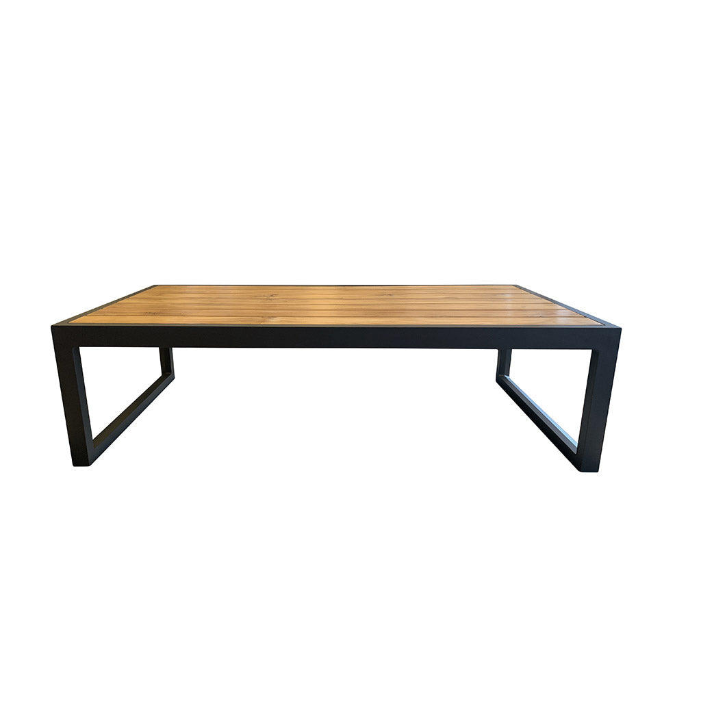 Modern charcoal outdoor coffee table