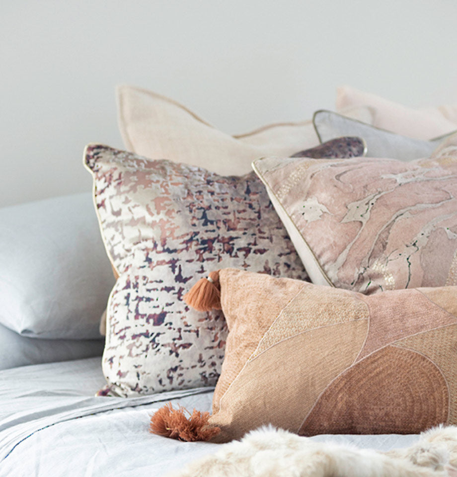Emilia Cushion with feather inner