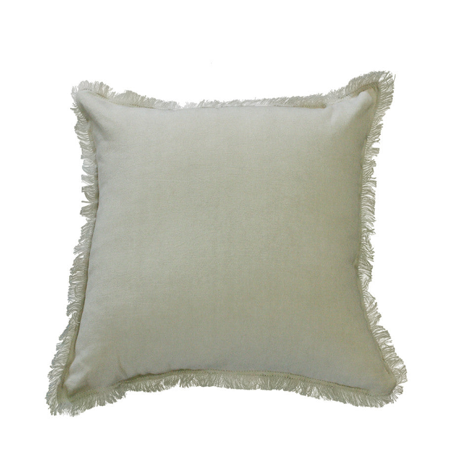 Cushion - Monterey - Charcoal/Fawn