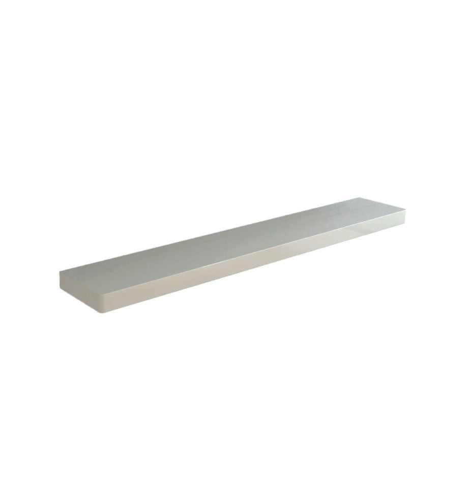 Floating Shelf 1120 - High Gloss White