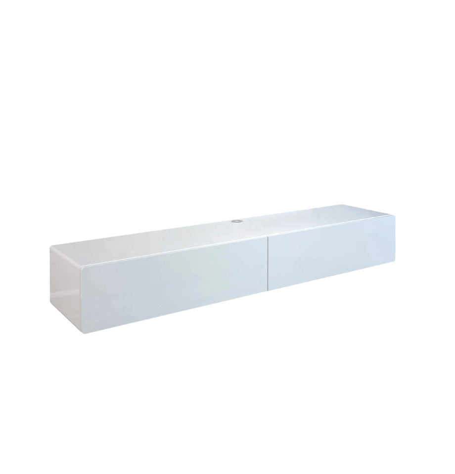 Bondi Floating Entertainment Unit 2200 - High Gloss White