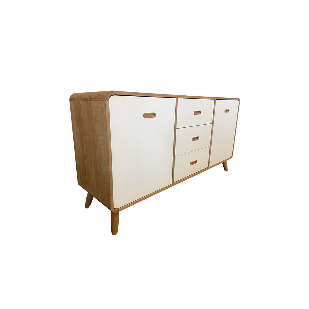 Enza 3 section sideboard