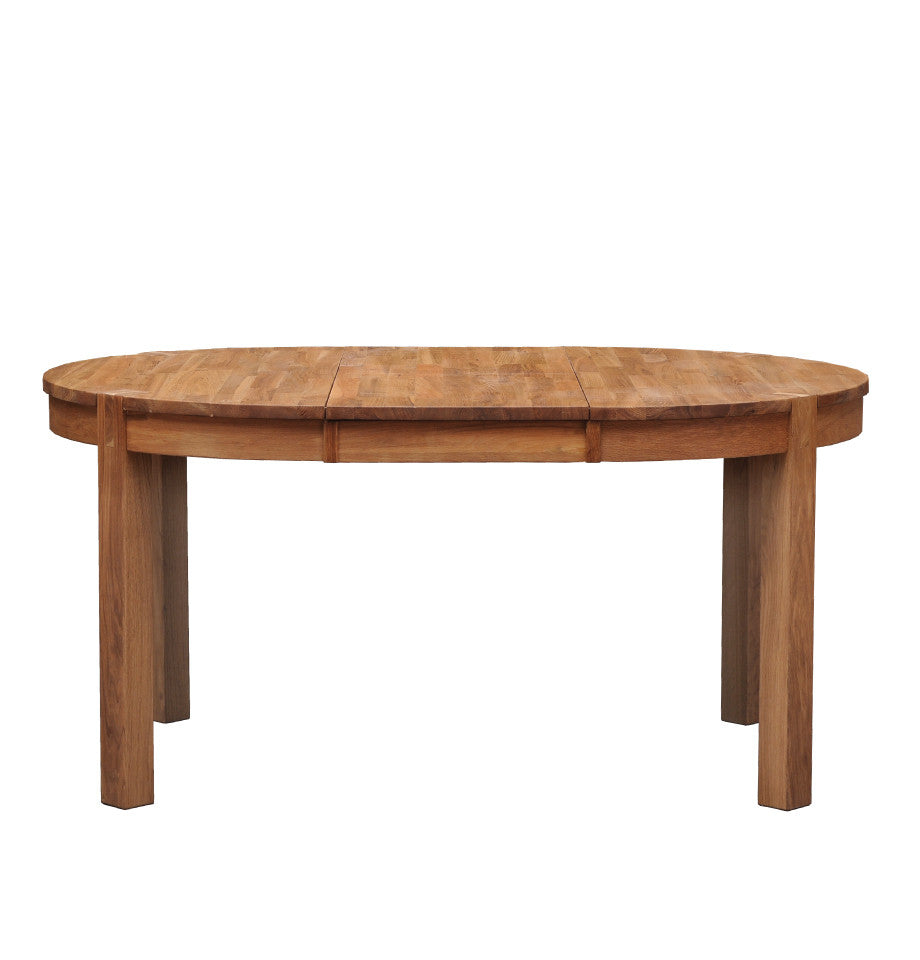Modena Round Extension Dining Table - Oak