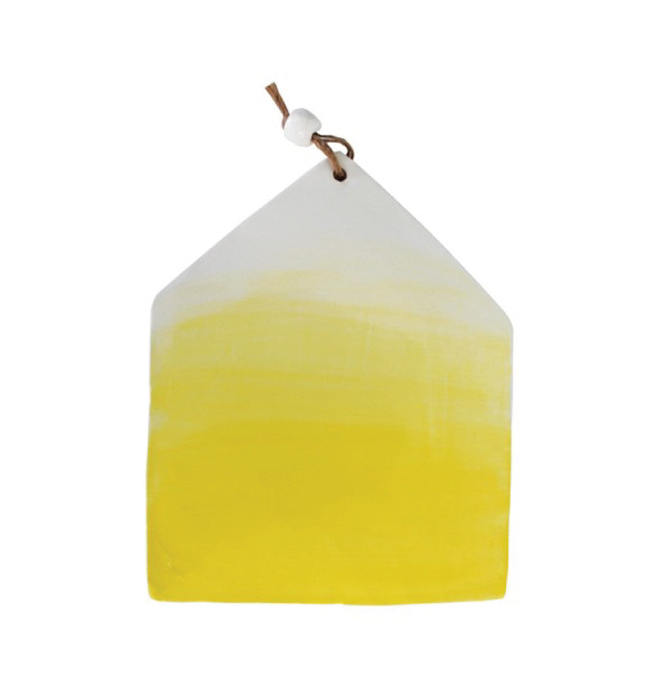 House Serving Board - Yellow