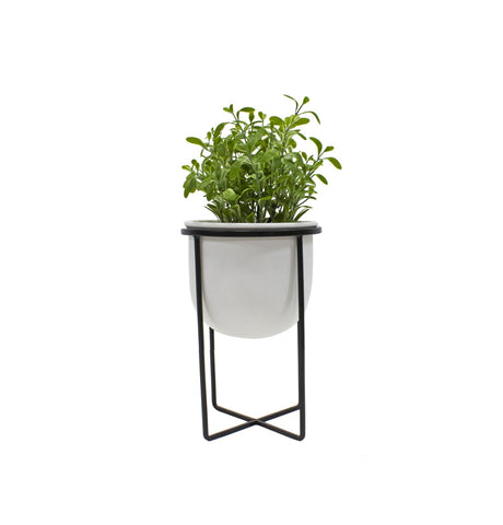Copenhagen 7pce Outdoor Setting - White Powdercoated Aluminium + Teak