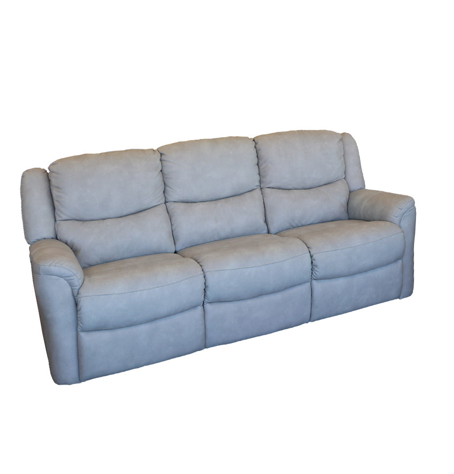 Hepburn 3 Seater Light Grey