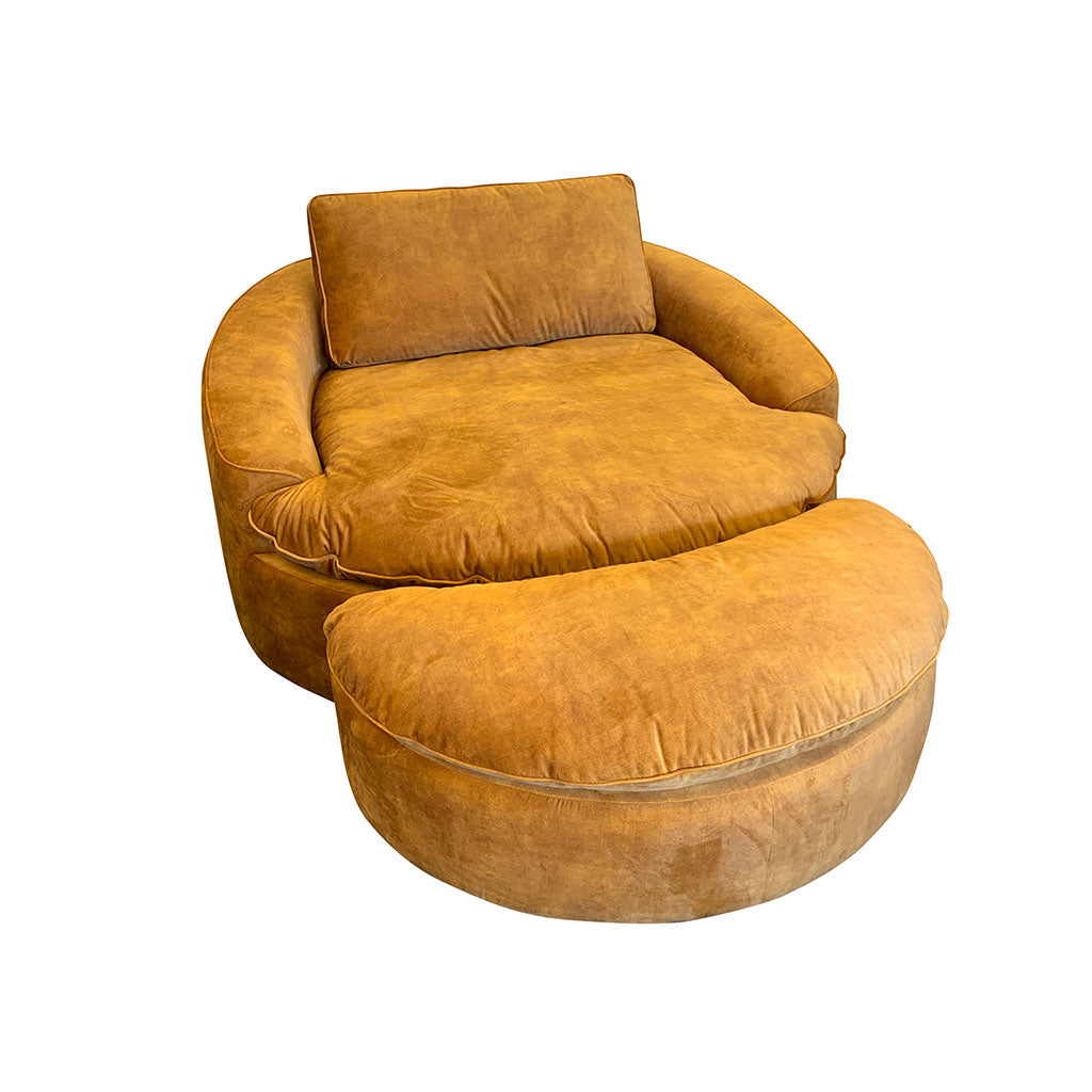 Big lounge chair - occasional chair and ottoman