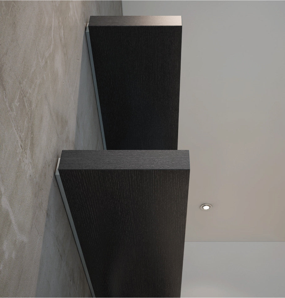 Floating Shelf 1660 - Black Oak Veneer