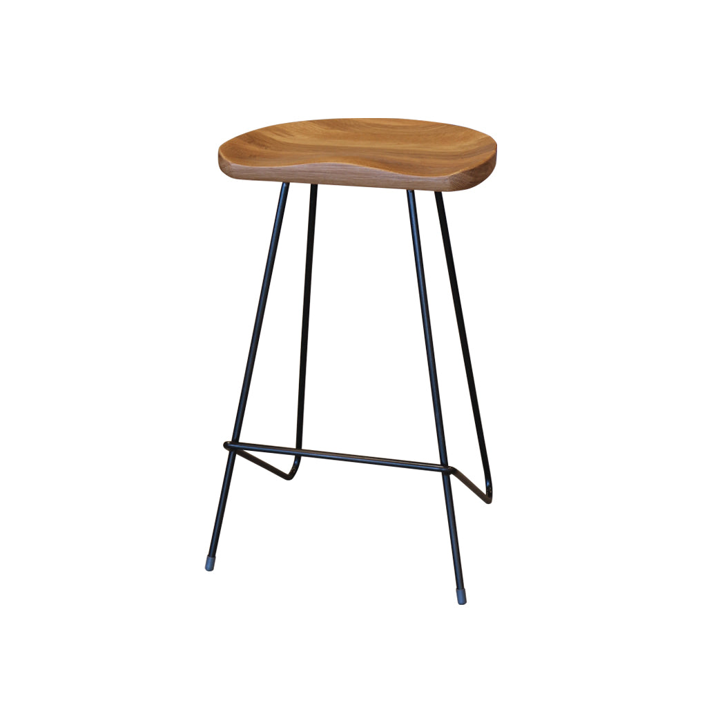 Ingrid Bar Stool 66cm - Black