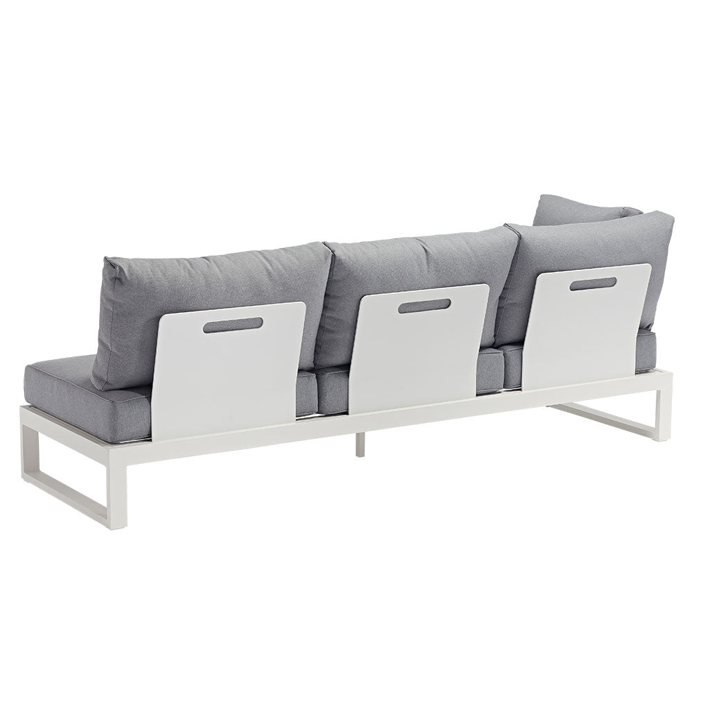 Karewa 3 seater outdoor sofa - back