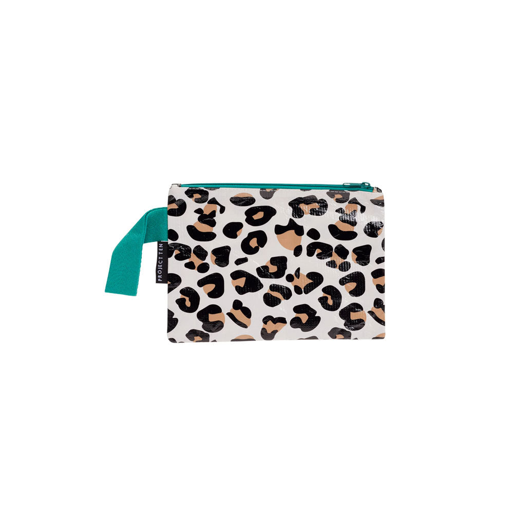 Project Ten - Zip Pouch - Leopard - Mini