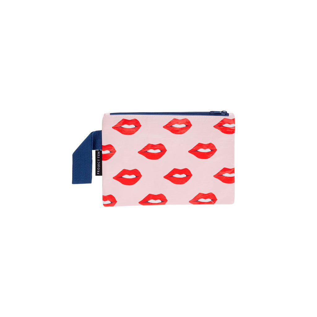 Project Ten - Zip Pouch - Lips - Mini