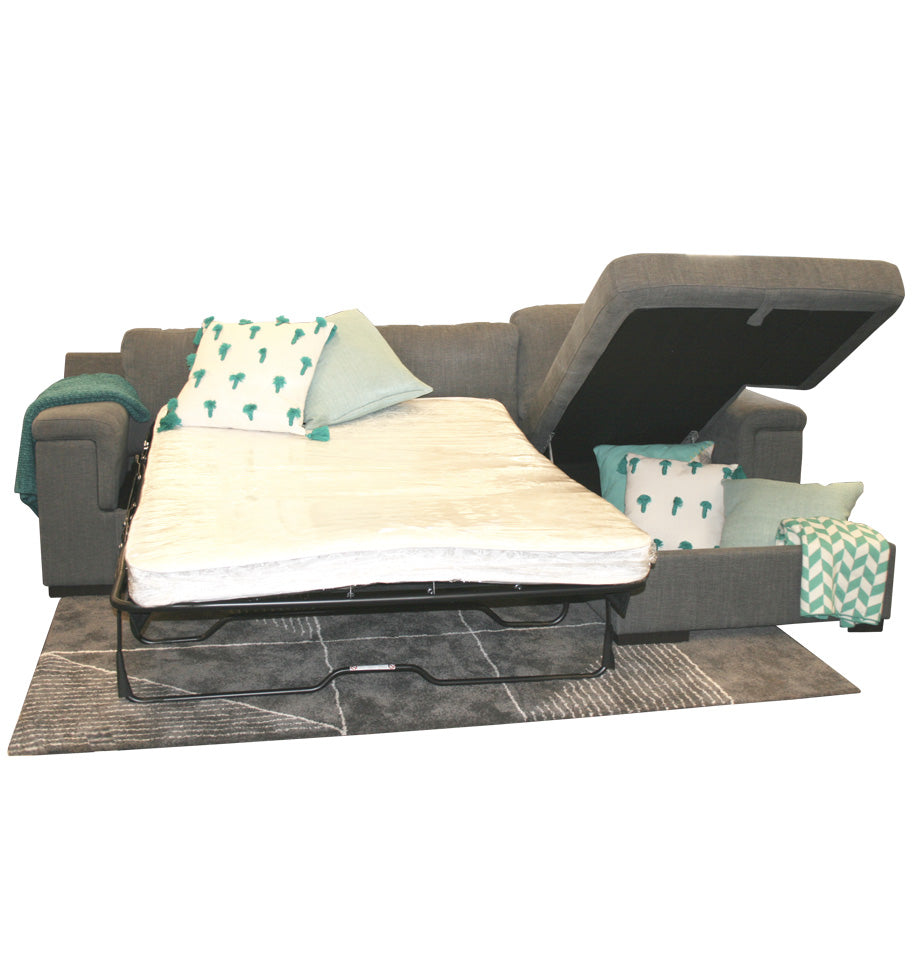 Malaga Sofa Bed - Chaise Open
