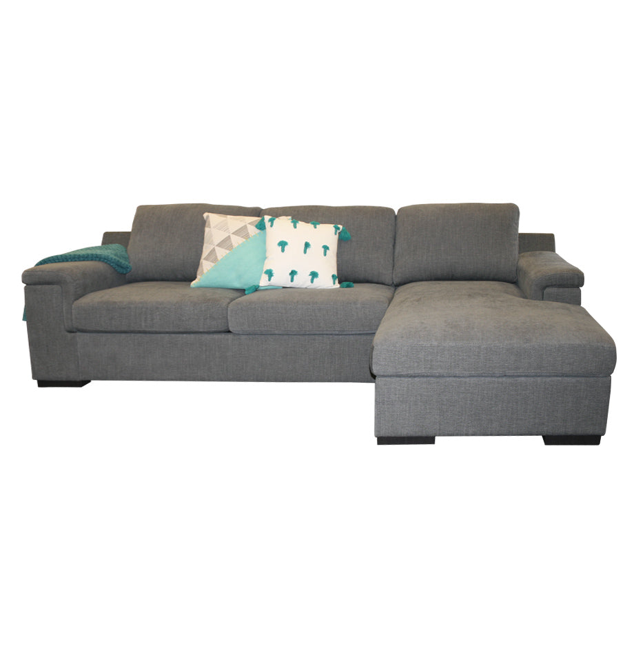 Malaga Sofa Bed Left - Storage Chaise Right - Furnish