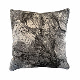Outdoor cushion marble Charcoal