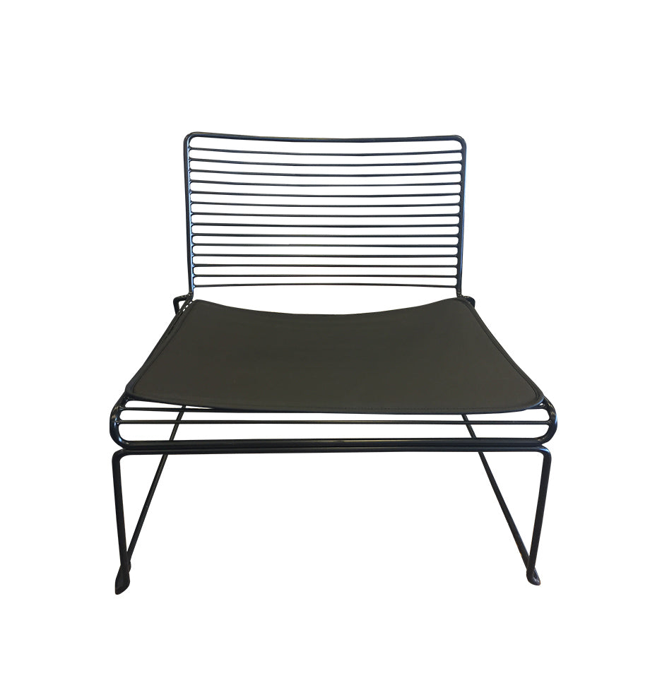 Marlo Lounge Chair - Black
