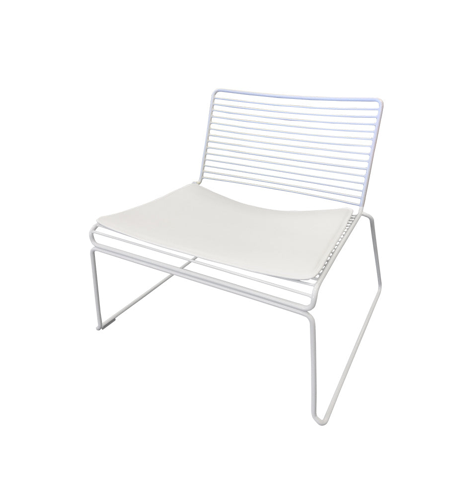 Marlo Lounge Chair - White