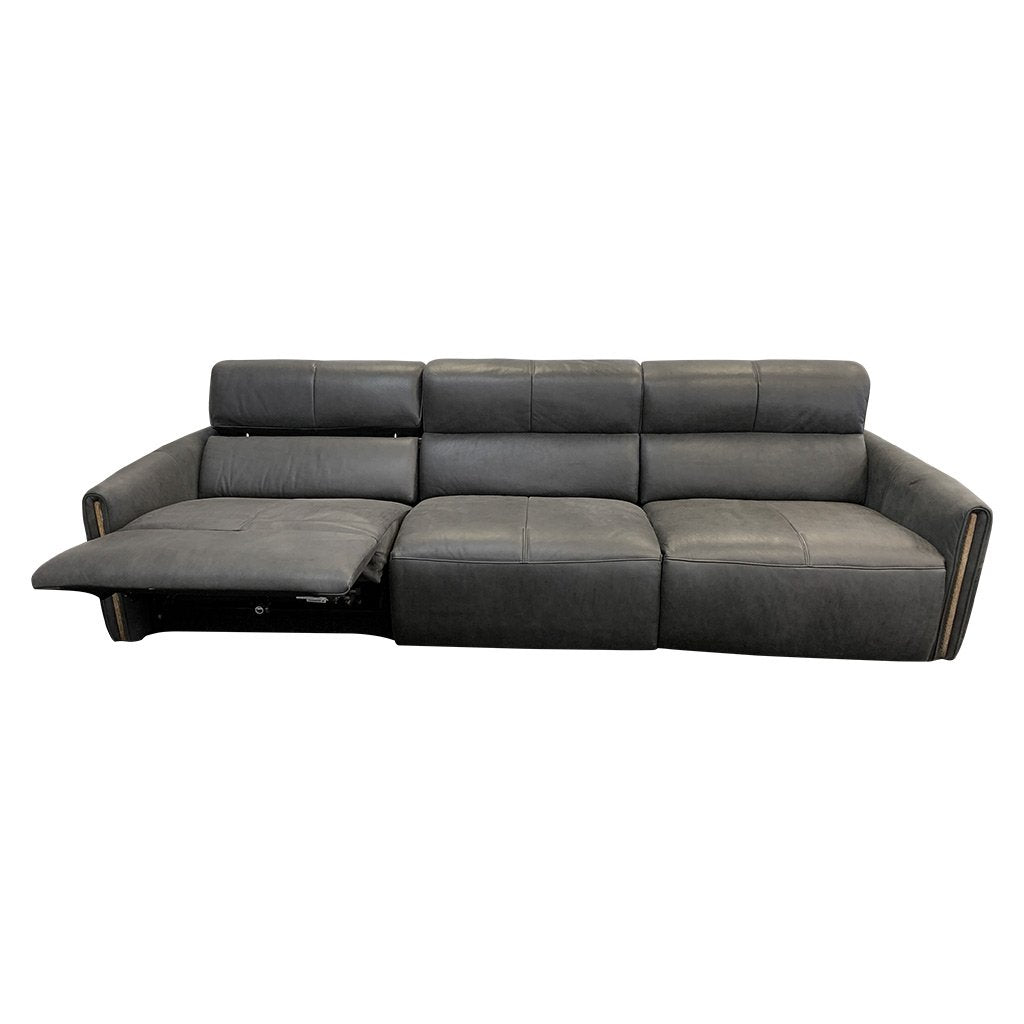 Monti 3pce Elec Rec Sofa - Urban Sofa Cat 18 Aniline Leather