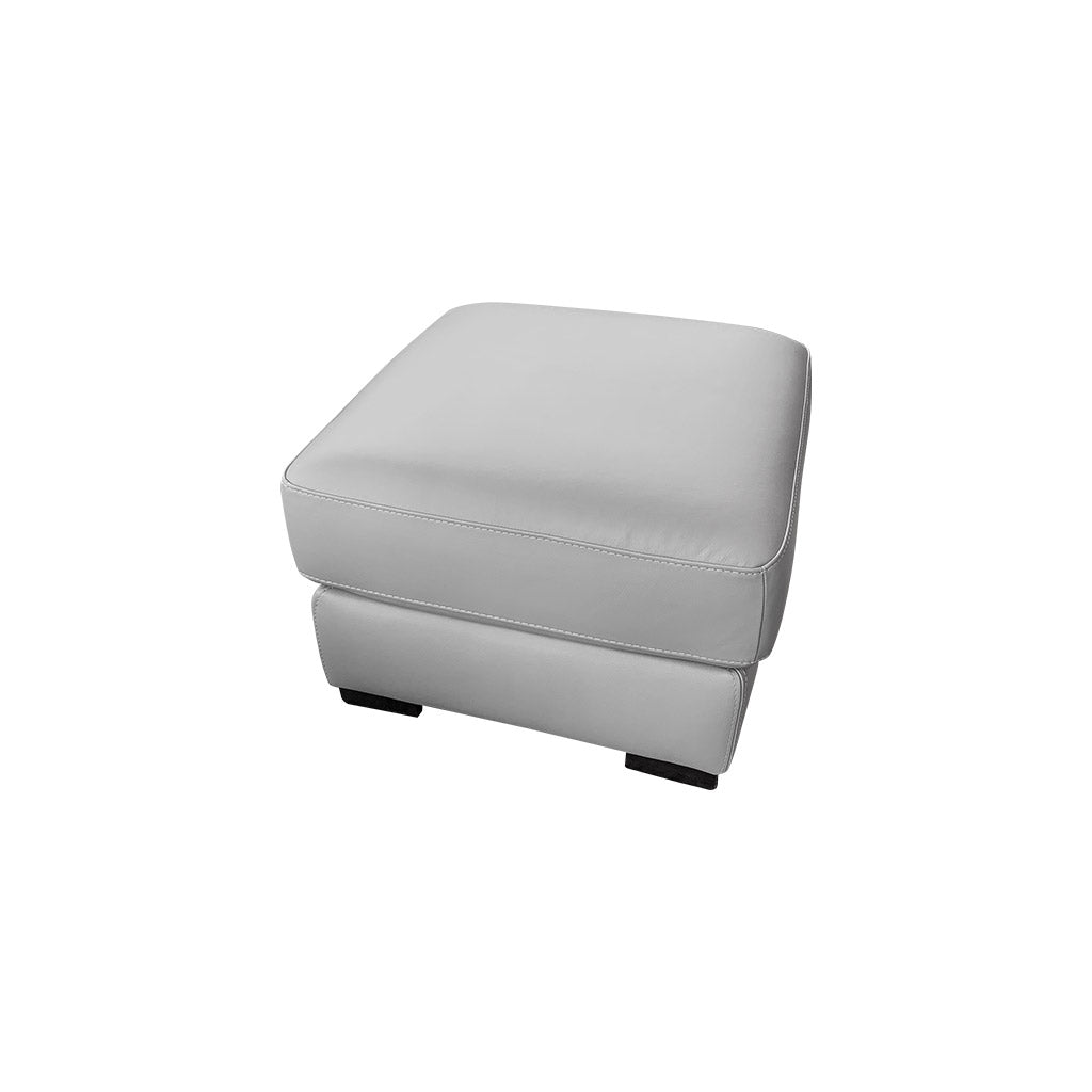 Morley Lift-Top Ottoman - Urban Sofa Cat 13 Light Grey Leather