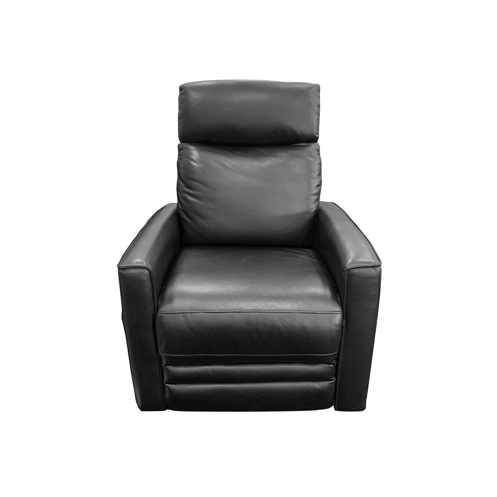 Nice Electric Rocker Recliner Black Leather