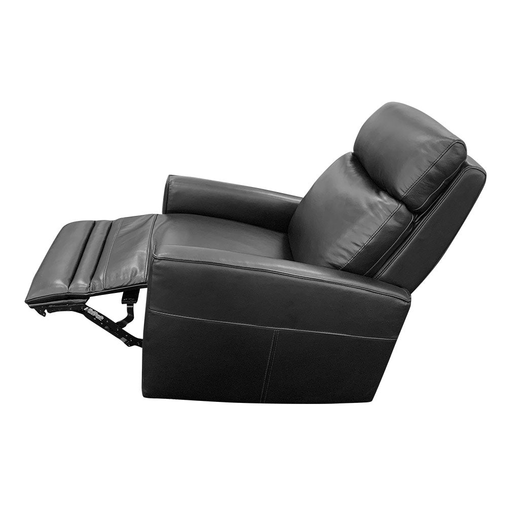 Nice Electric Rocker Recliner semi-reclined
