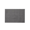Citta Design Placemat - Open Weave - Black/Grey