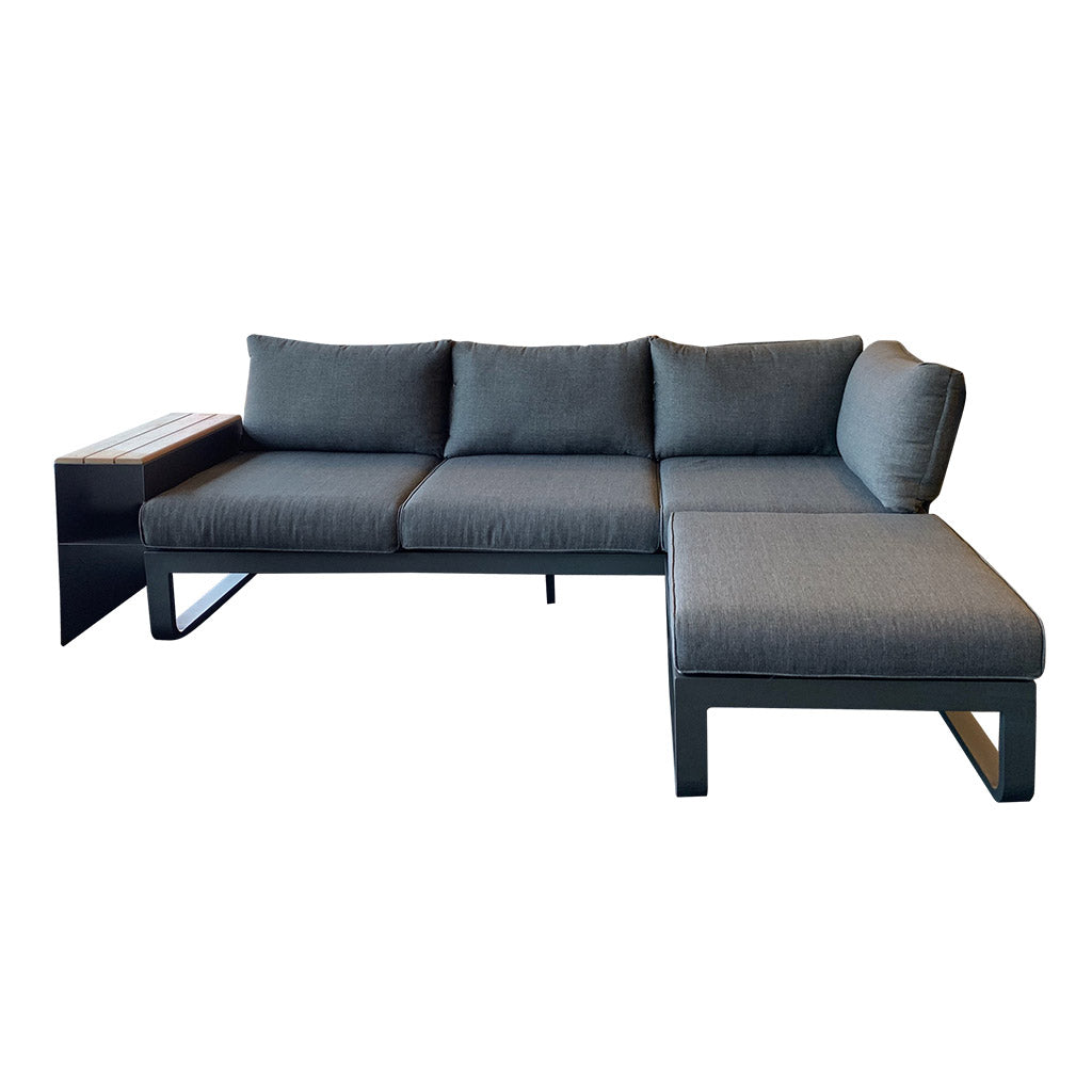 Opito charcoal outdoor modular sofa