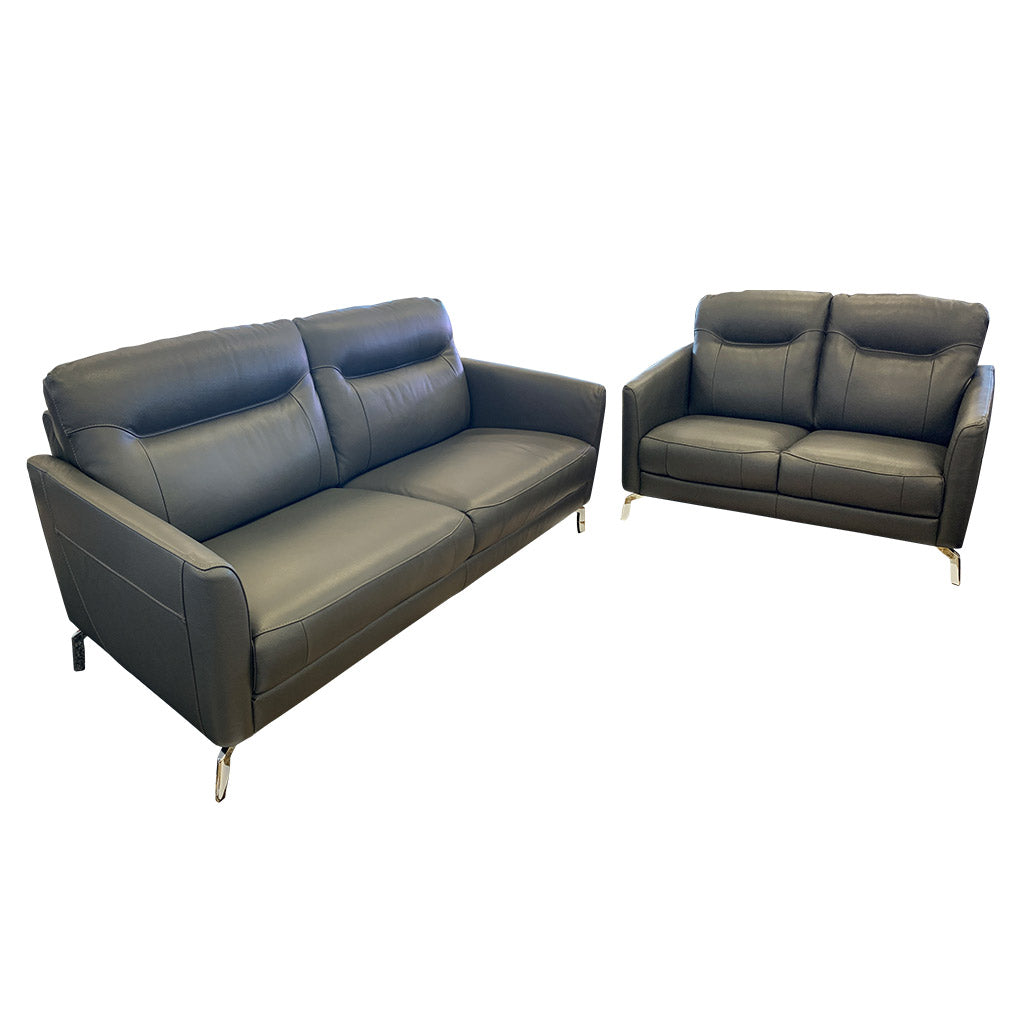 Pacific 3+2 Leather sofa suite
