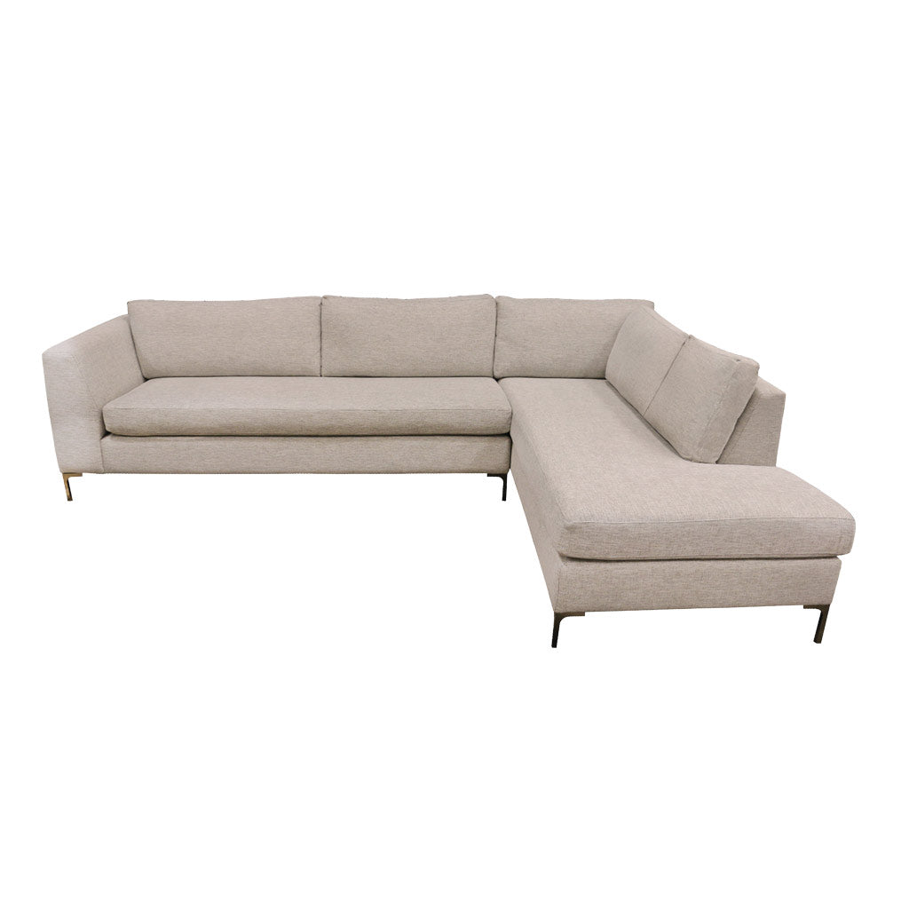 Picasso corner 3 seater left with corner chaise right -Jake Silverstreak