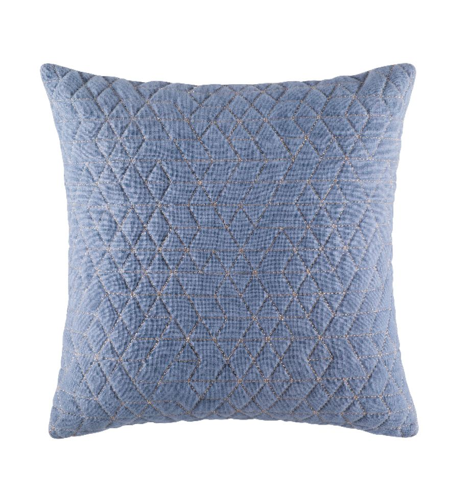 Cushion - Quilty - Denim
