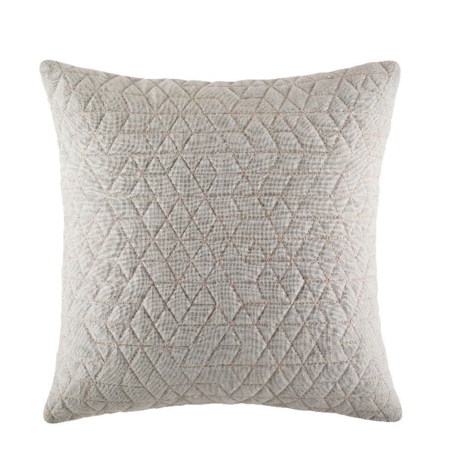 Cushion - Quilty - Grey