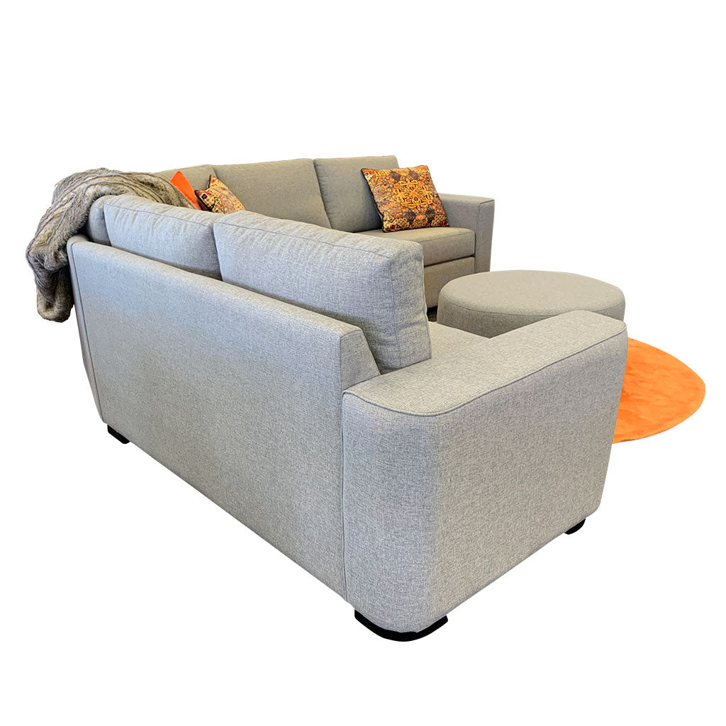 Regent - large curved corner lounge suite