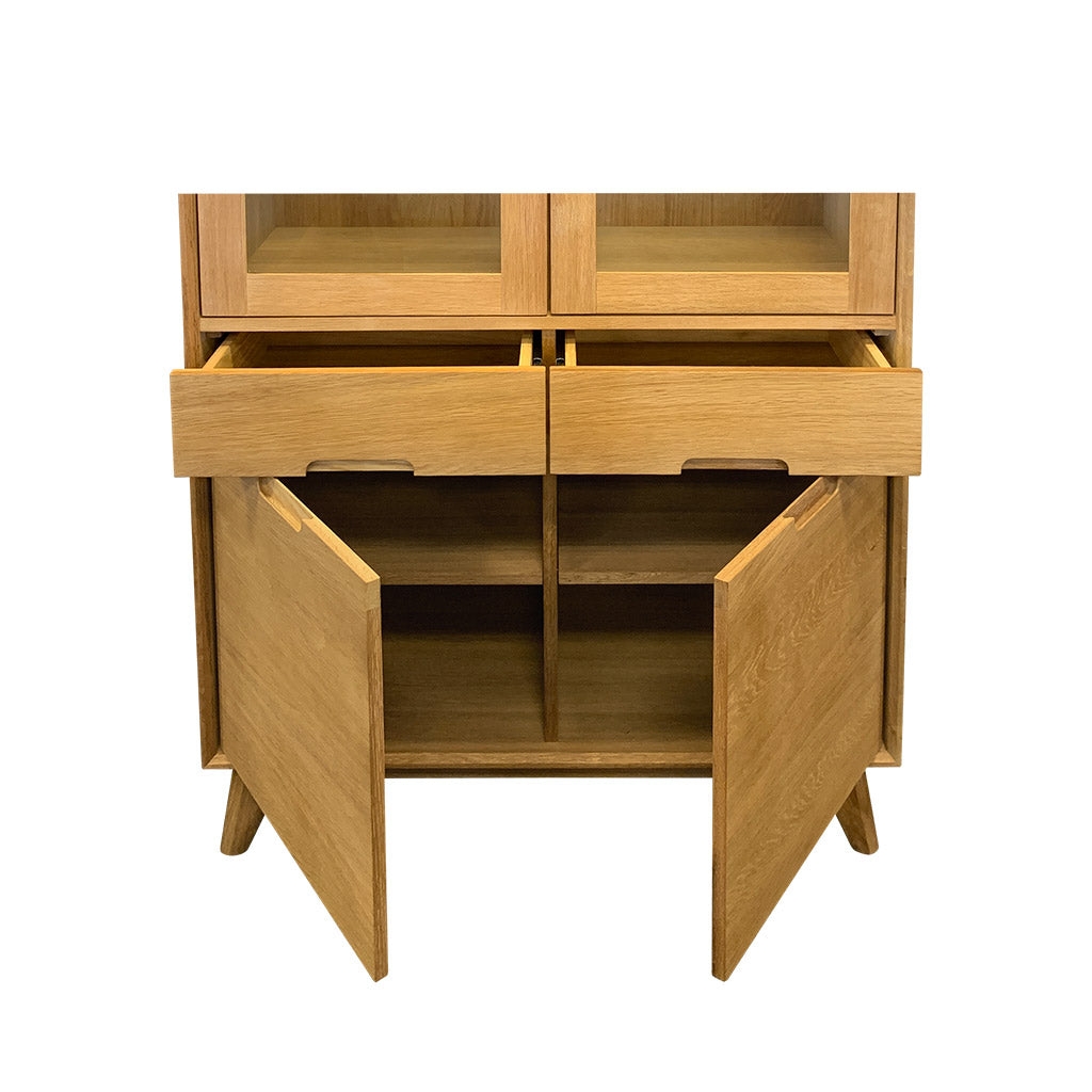 Rhodes China Display Cabinet - Drawer and Cupboards