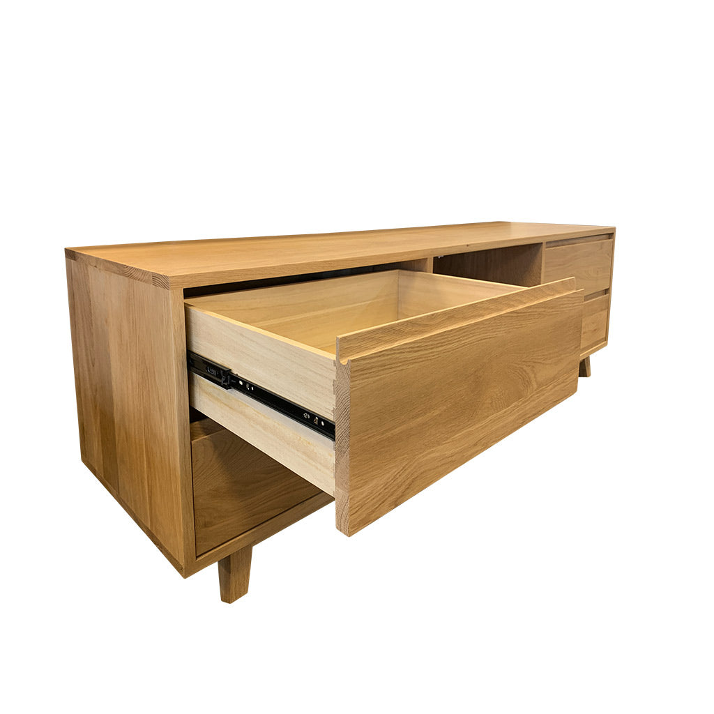 Shari TV Entertainment Unit - with 4 drawers