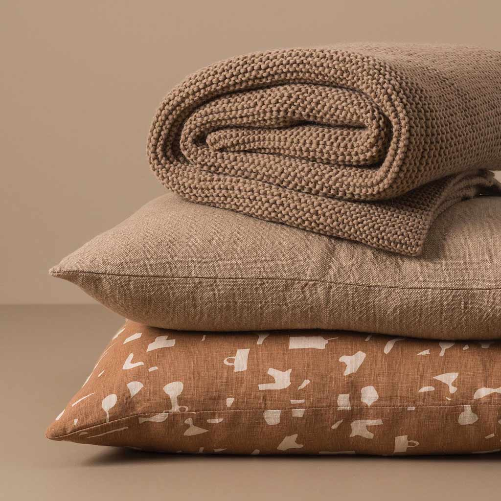 Citta Design Cushion - Still Life Malt/Biscuit