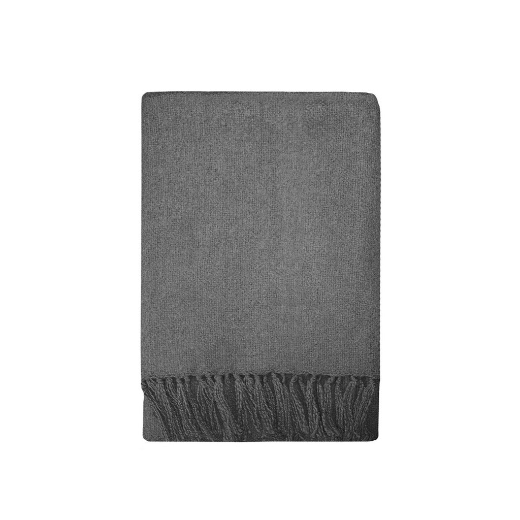 Mulberi Rhapsody Throw - Charcoal