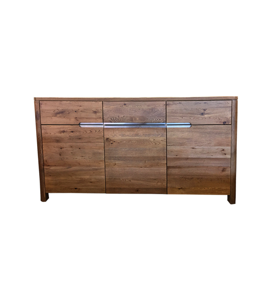Trivento 3 Section Sideboard - Wild Oak Natural Oil
