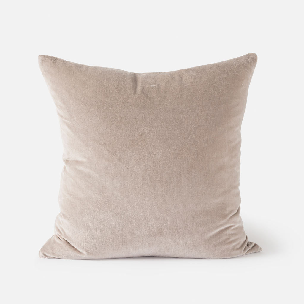 Citta Design Cushion - Cotton Velvet Scoria Tint